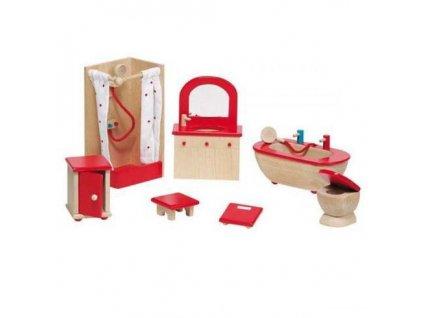 Nábytek pro panenky – koupelna STYLOVÁ