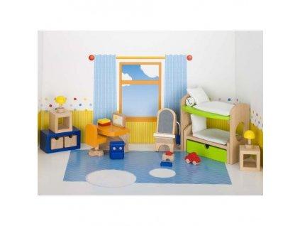 Nábytek pro panenky – dětský pokoj TREND