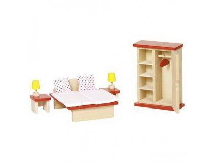 Nábytek pro panenky – ložnice BASIC