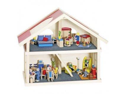 Domeček pro panenky – 2 poschodí
