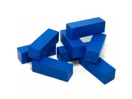 1JD - kvádr modrý 7,5cm - 1ks