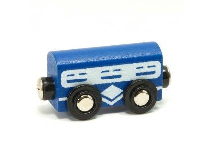 Vagónek modrý - magnetický