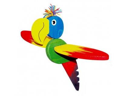 Létací papoušek velký - žíhaný II.