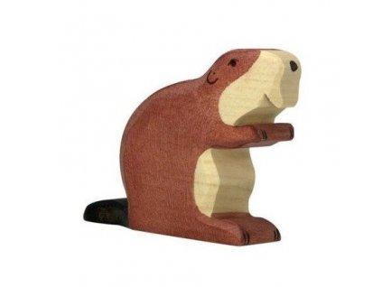 Bobr – dřevěné zvířátko