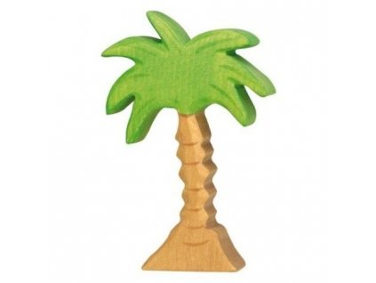 Palma střední – vyřezávaná dřevěná hračka
