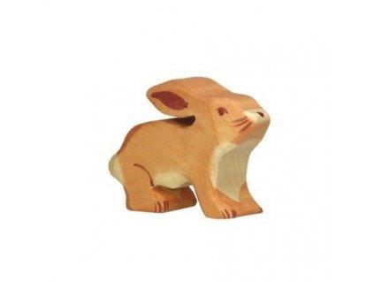 Zajíček malý – dřevěné zvířátko