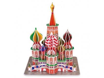 Basilova katedrála - 3D puzzle (doprodej)