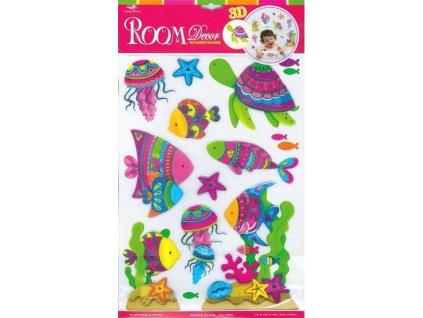 Rybičky - dekorativní nálepka (doprodej)