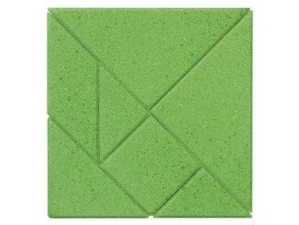 Čtverec - kamenné puzzle