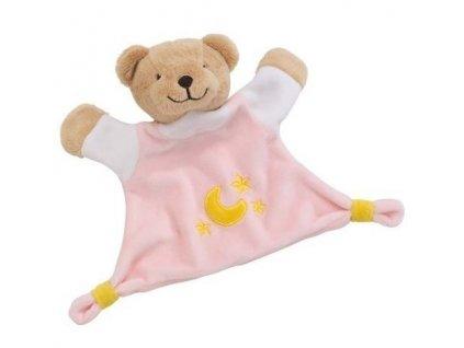 Cause Mazlivá hračka usínáček – Růžový medvídek