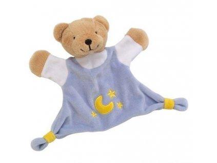 Cause Mazlivá hračka usínáček – Modrý medvídek