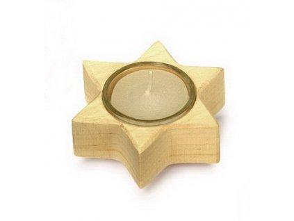 Stojan na svíčku Hvězda