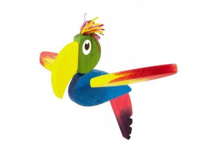 Létací papoušek malý - žíhaný