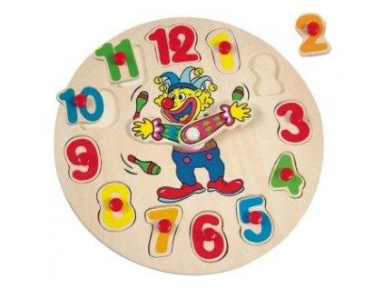 Hodiny - puzzle