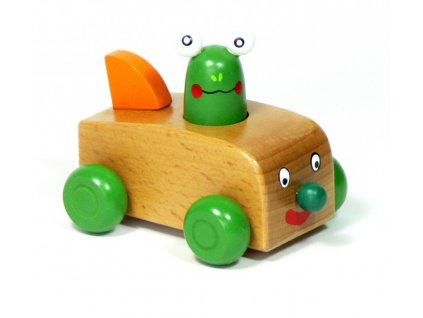 Pískací závodníci - auto