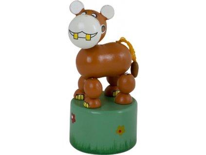 Mačkací figurka - hroch