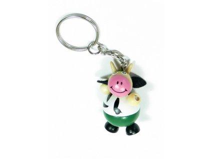 001 - Přívěsek - kravička
