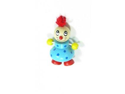 Magnetka - Klaun modrý (doprodej)