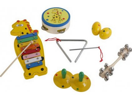 Hudební set - Žirafa