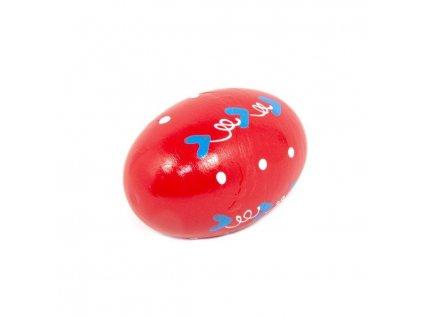 Rumbakoule vajíčko - červená