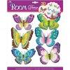 Motýlci - dekorativní nálepka (doprodej)
