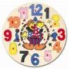 Puzzle hodiny s klaunem