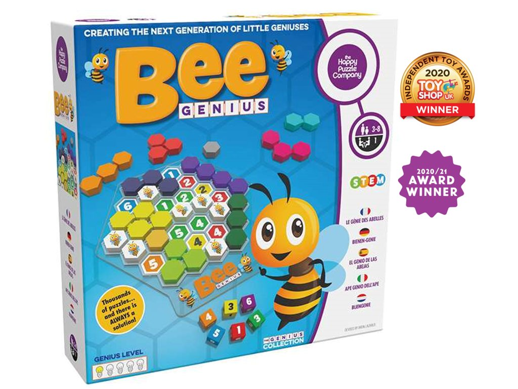 Bee Genius with awords