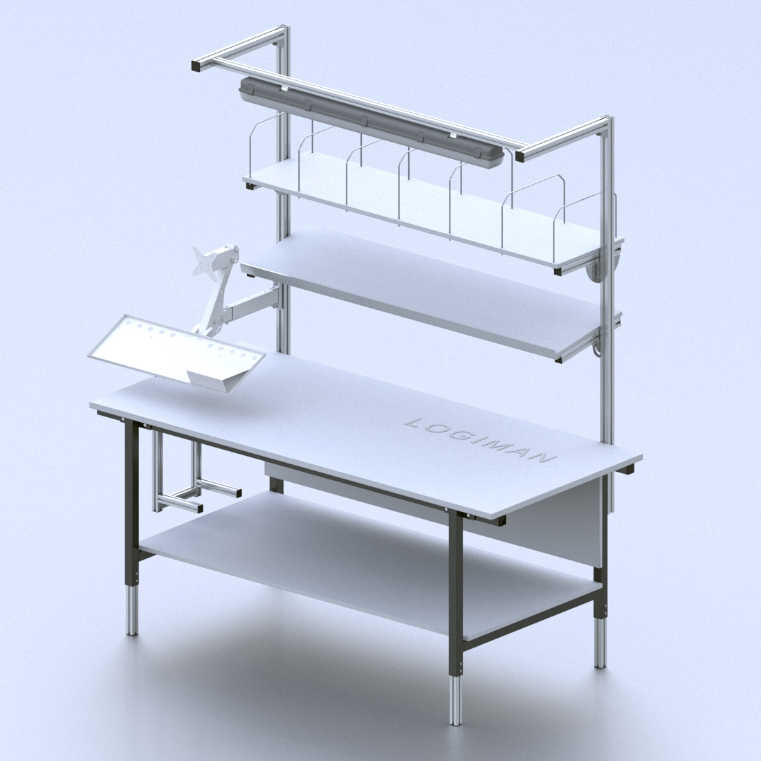 Ergonomické balicí stoly SSE