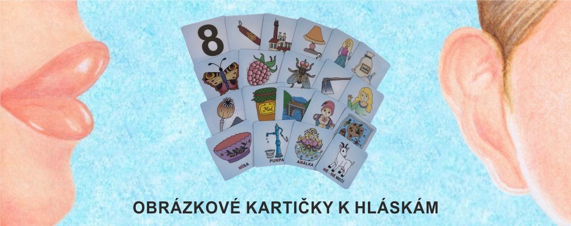 OBRÁZKOVÉ KARTIČKY K HLÁSKÁM
