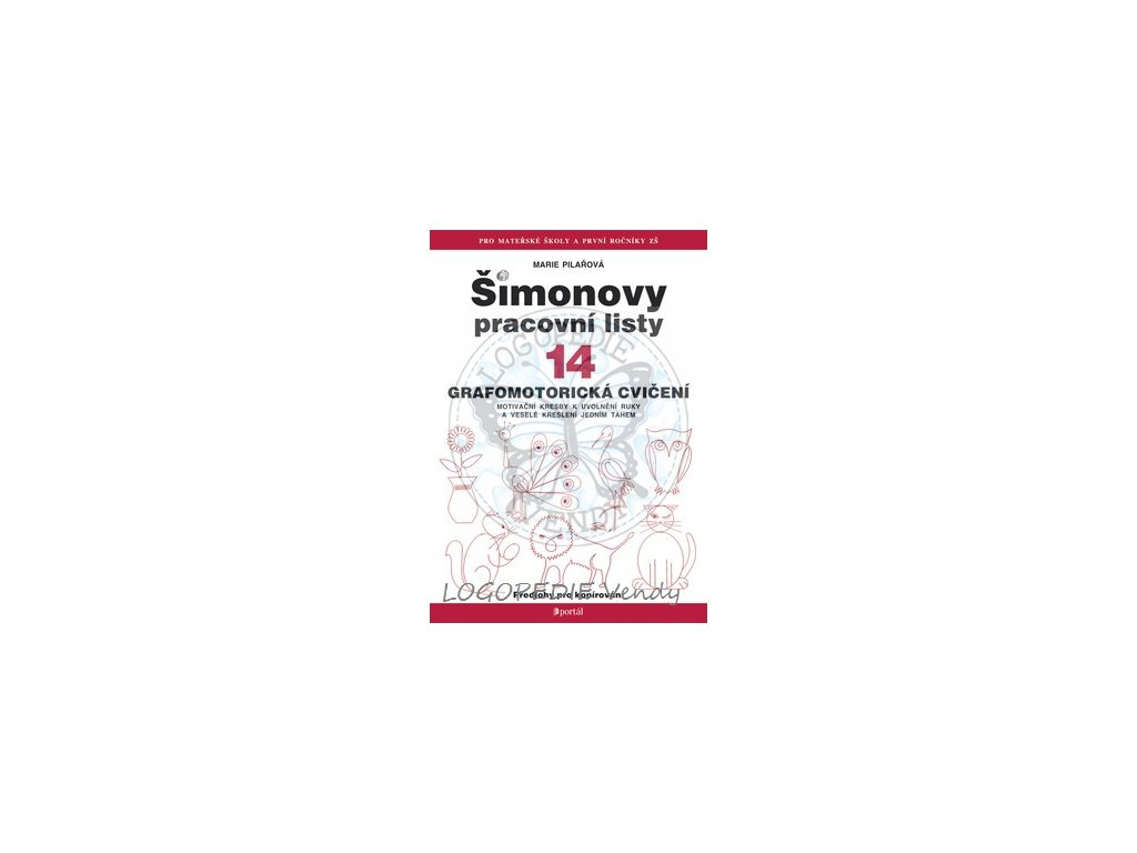 Simonovy Pracovni Listy 14 Grafomotoricka Cviceni Logopedie Vendy