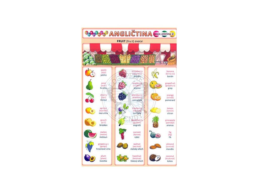 Obrázková angličtina 2 - Ovoce a zelenina