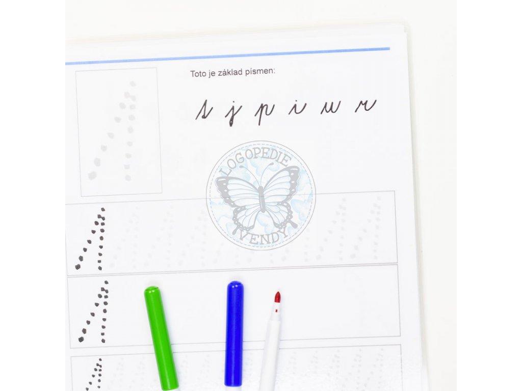 Základy písmen - psací písmo