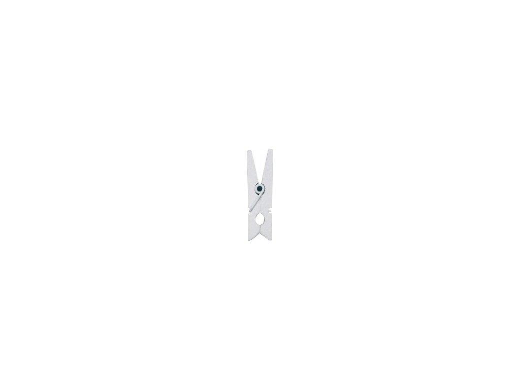 Kolíček 3,5 cm, bílý
