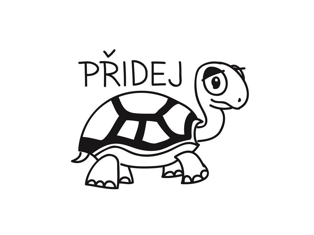 Motivační razítko - Želvička