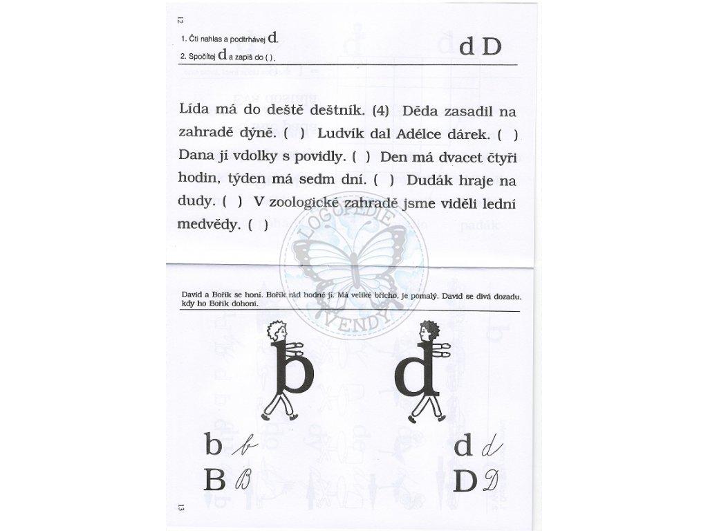 Cviceni Pro Dyslektiky Iv Rozlisovani B D P O Zelinkova