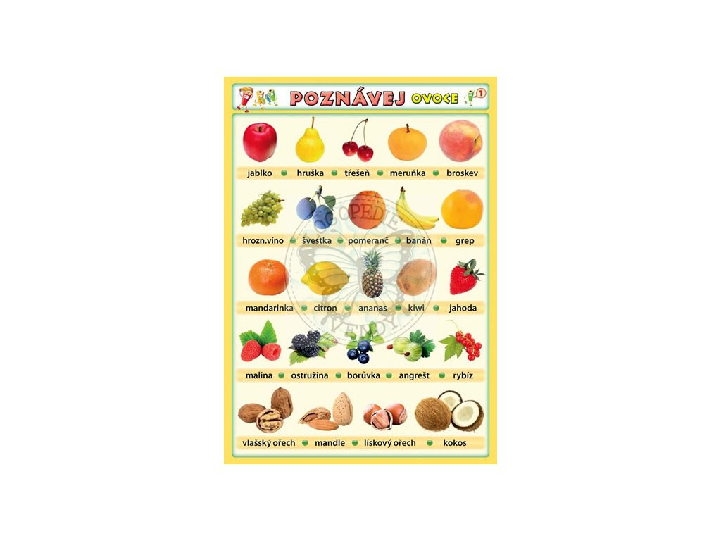 Poznávej 1 - ovoce, zelenina, Petr Kupka