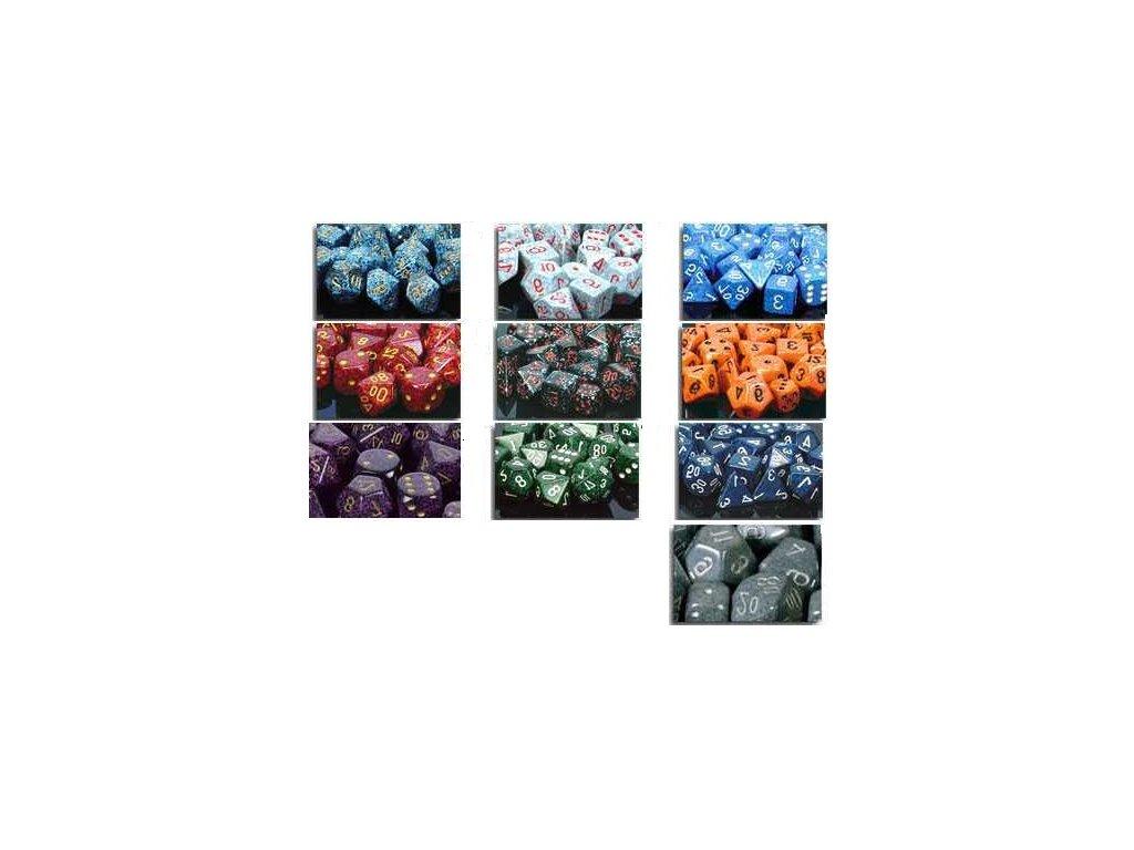 Kostky D10 - mix signature