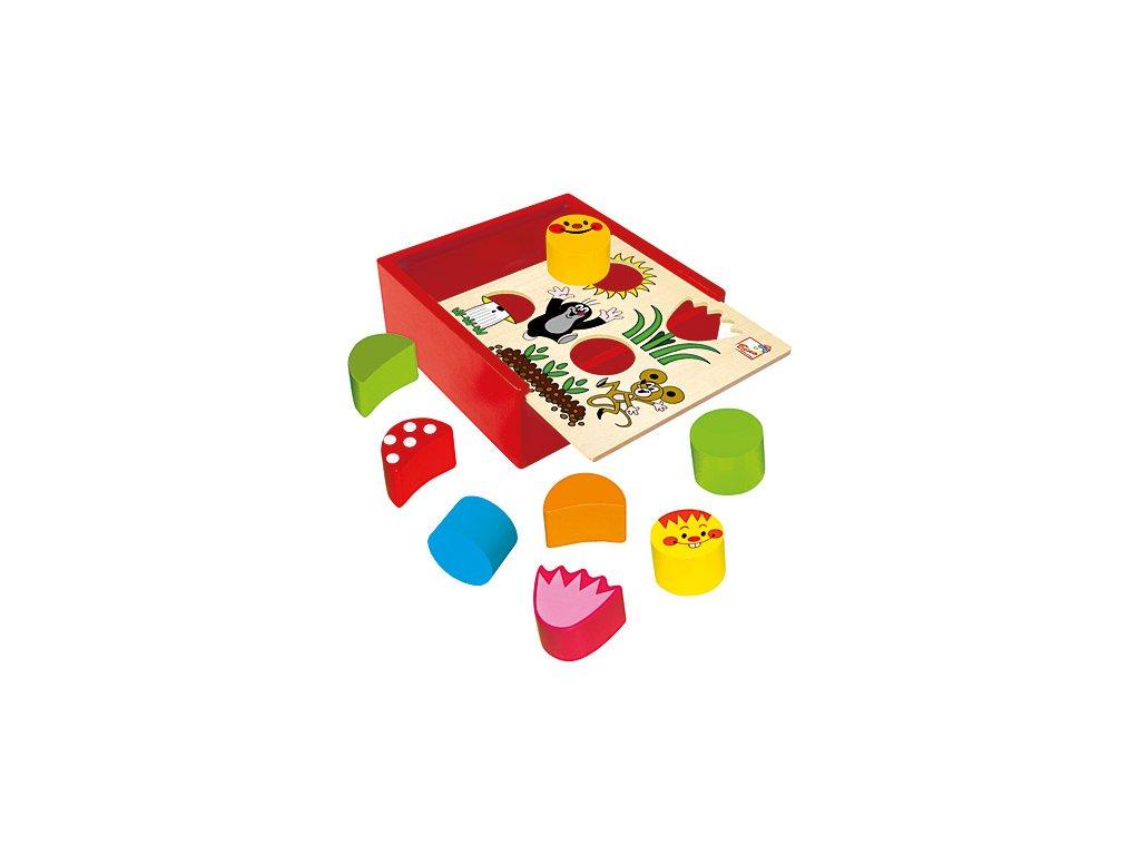 Krabička s tvary - Krtek, BINO