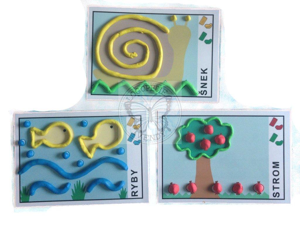 Obrázky - předlohy k plastelíně