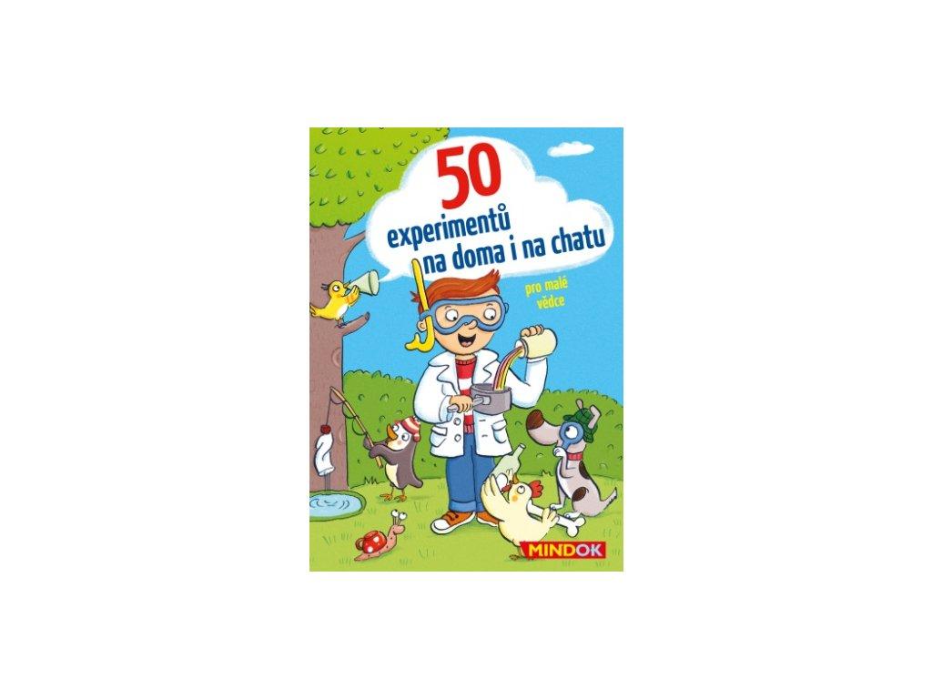 50 experimentů na doma i na chatu, Mindok