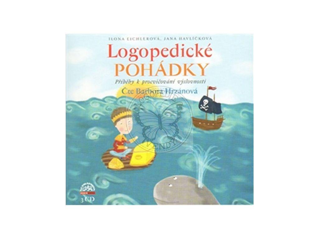 Logopedické pohádky - 3CD
