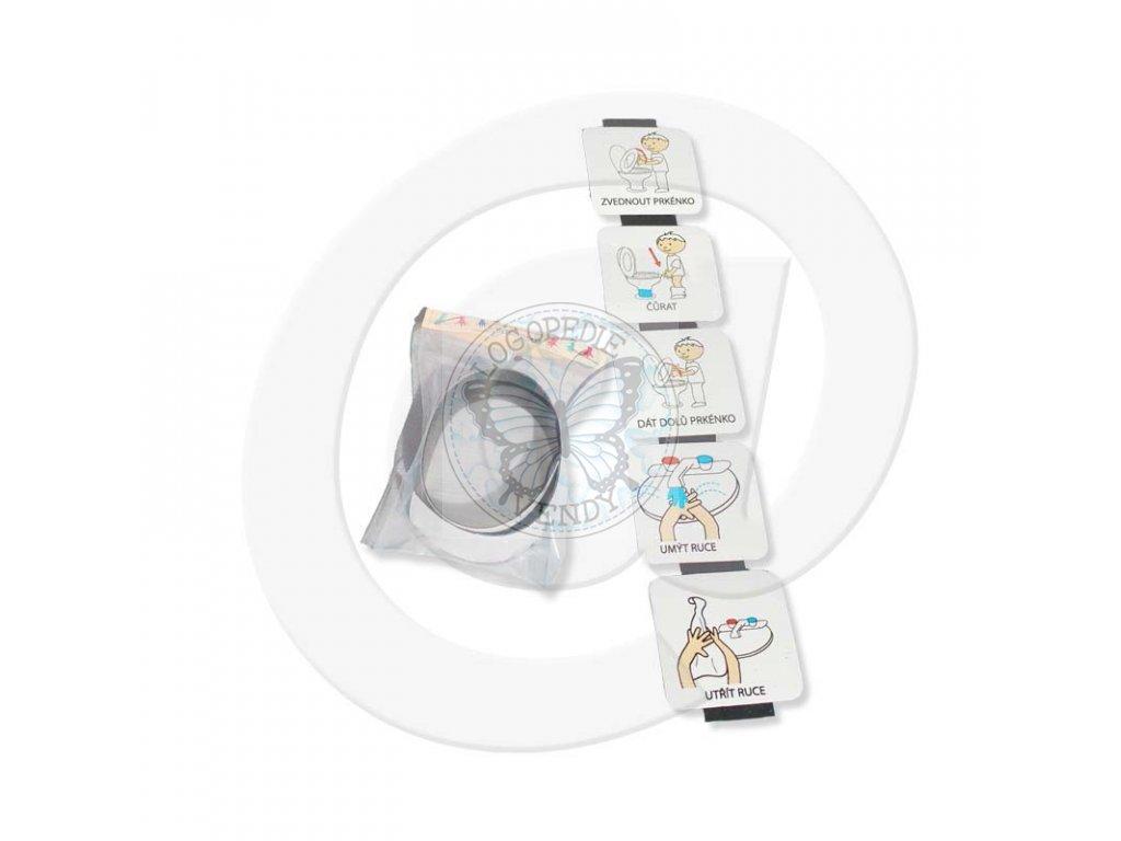 Magnetická samolepicí páska 25cm