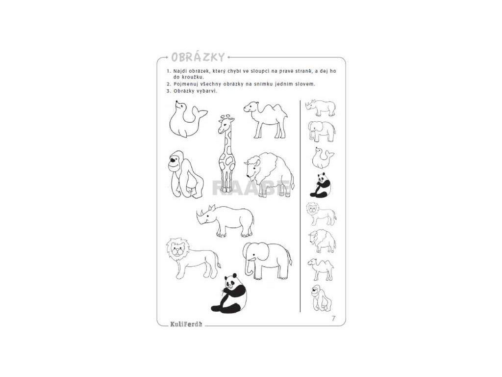 ec6f6b5473b Pozornost pro děti od 4 do 8 let - Logopedie VENDY