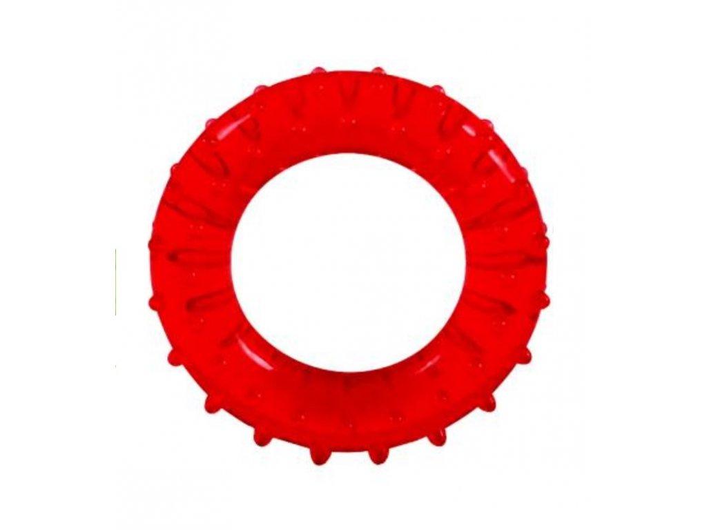 Gelovy krouzek cerveny