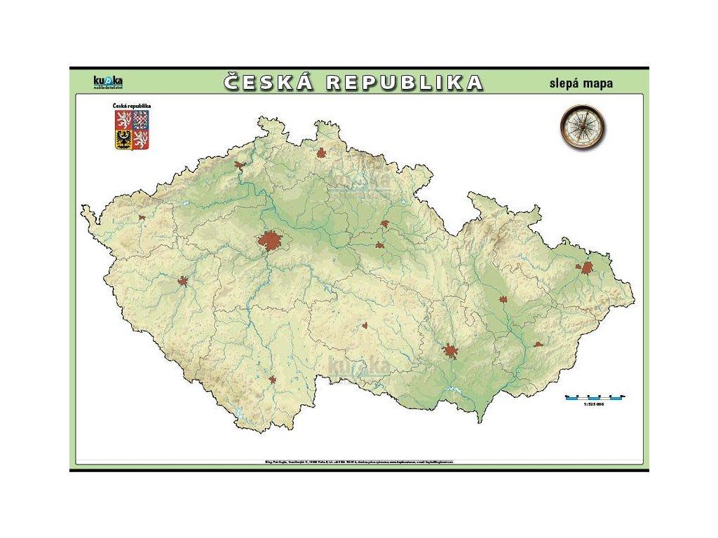 CR slepa mapa