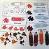 Pokročilé barvy - strukturované karty