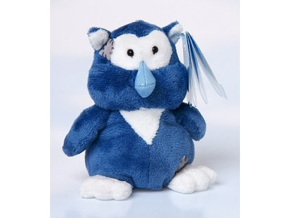 Blue Nose Friends - plyš 10 cm sova Midnight