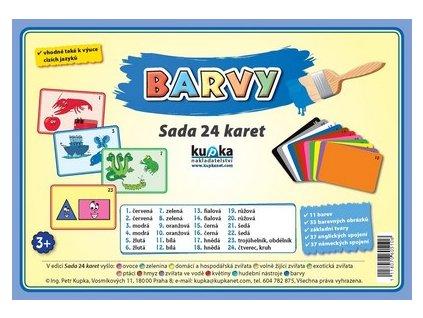 Barvy - Sada 24 karet, Petr Kupka