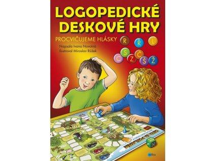 Logopedické deskové hry – Procvičujeme hlásky L, CSZ, ČŠŽ, R a Ř