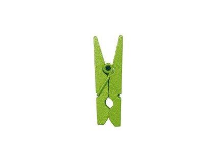 Kolíček 3,5 cm, zelený